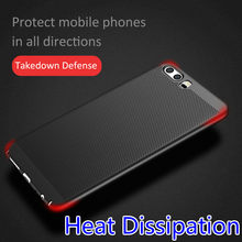 Hard PC Heat Dissipation Hollow skin Case For Huawei Honor 8 9 6X 7X 8 P20 Mate 10 Pro P10 P8 P9 lite mini Y3 Y5 2017 Y6 II Nova(China)
