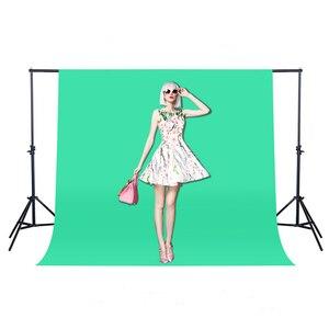 Image 2 - 1.6X1/2/3 M 10 couleurs Non tissé vert écran photographie arrière plan photo Chroma arrière plan accessoires Studio