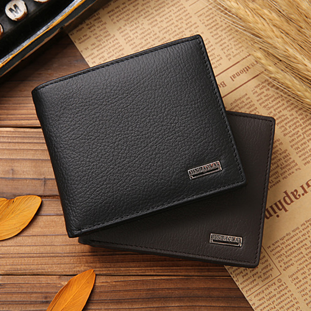 Leather Men Wallets Short Male Purse With Coin Pocket Card Holder Wallet Men Clutch Money Bag porte monnaie homme men purse NEW men wallet cowhide genuine leather purse money clutch card holder coin short on cover black dollar price 2017 male cash wallets