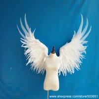 Высокое качество Большой размер красивые белые крылья Ангела мода деко реквизит вечерние для вечеринки Свадьба Хэллоуин Детский День Креа