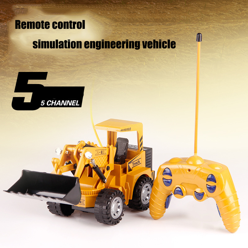 Newly Children Remote Control Truck RC Carros Voiture Tractor Toys Cars Brinquedo Juguetes Eletrico Coche Toy Trucks For kid