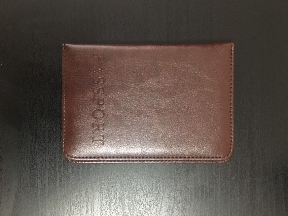 2019 Kaarthouder Portemonnee Multifunctionele tas Deksel op het paspoort Houder beschermer Portemonnee Visitekaartje Zachte paspoortklep photo review