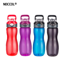 NOCCOL 550ML Outdoor Sports Water Bottle Heath Leak-Proof Plastic Kettle Cycling Bottles Travel Camping Drinkware BRA Free