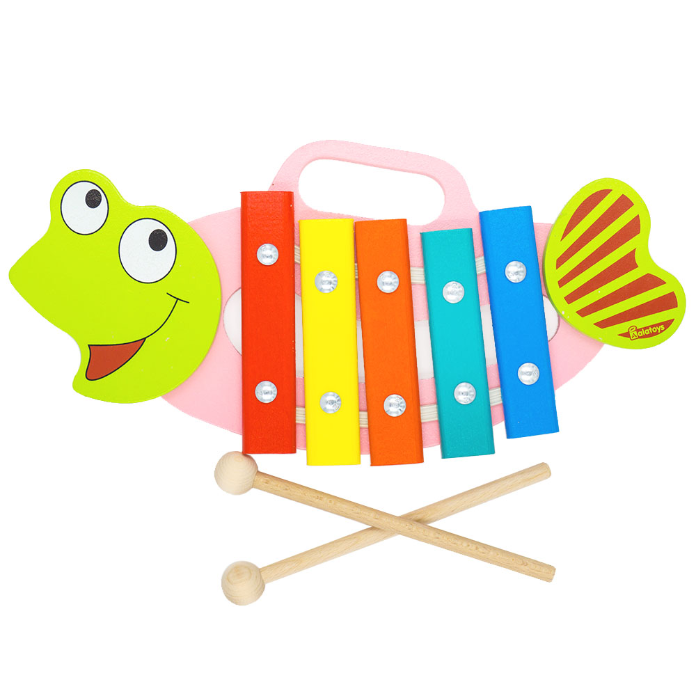 Toy Musical Instrument Alatoys KC0502 play glockenspiel xylophone music toys for boys girls sassy seat doorway jumper 5 toys with musical play mat