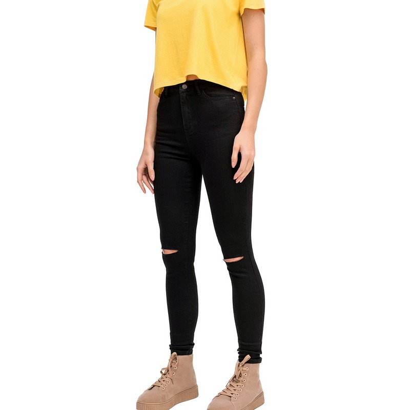 Jeans befree for female cotton pants women clothes apparel  1811315756-50 TmallFS 2017 boyfriend hole ripped low waist jeans women vintage lace floral cool denim pencil pants lady bleached washed jeans femme