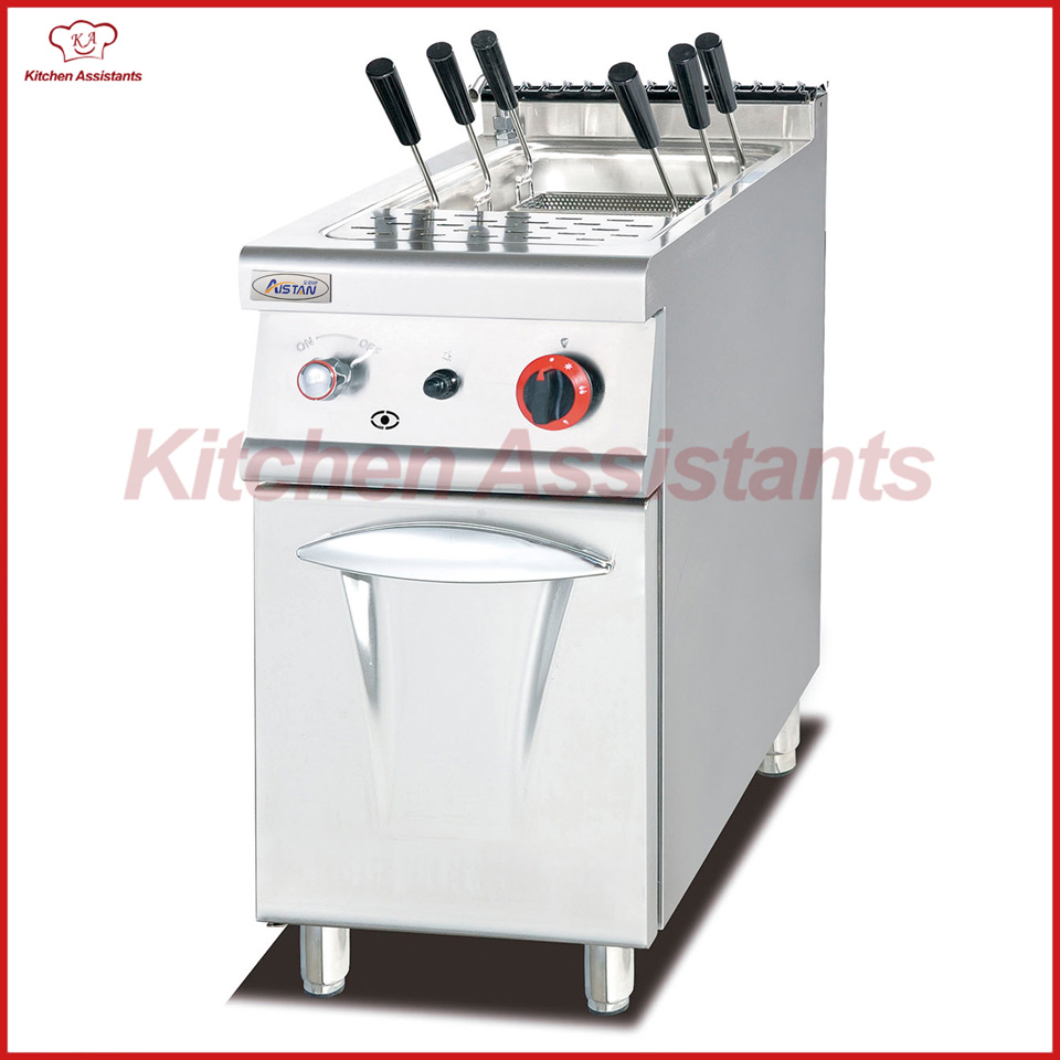 GH778C Gas Pasta Cooker with Cabinet of catering equipment