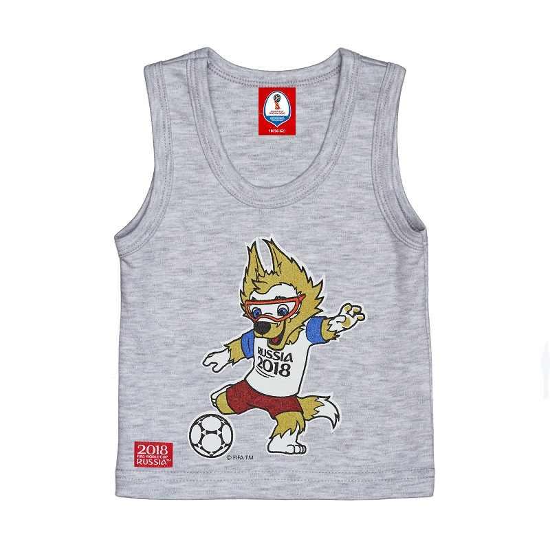 Майки и майки, Кубок мира FIFA, Россия 2018, для мальчиков и девочек, F1-25, нижнее белье, Детская футболка, детская одежда
