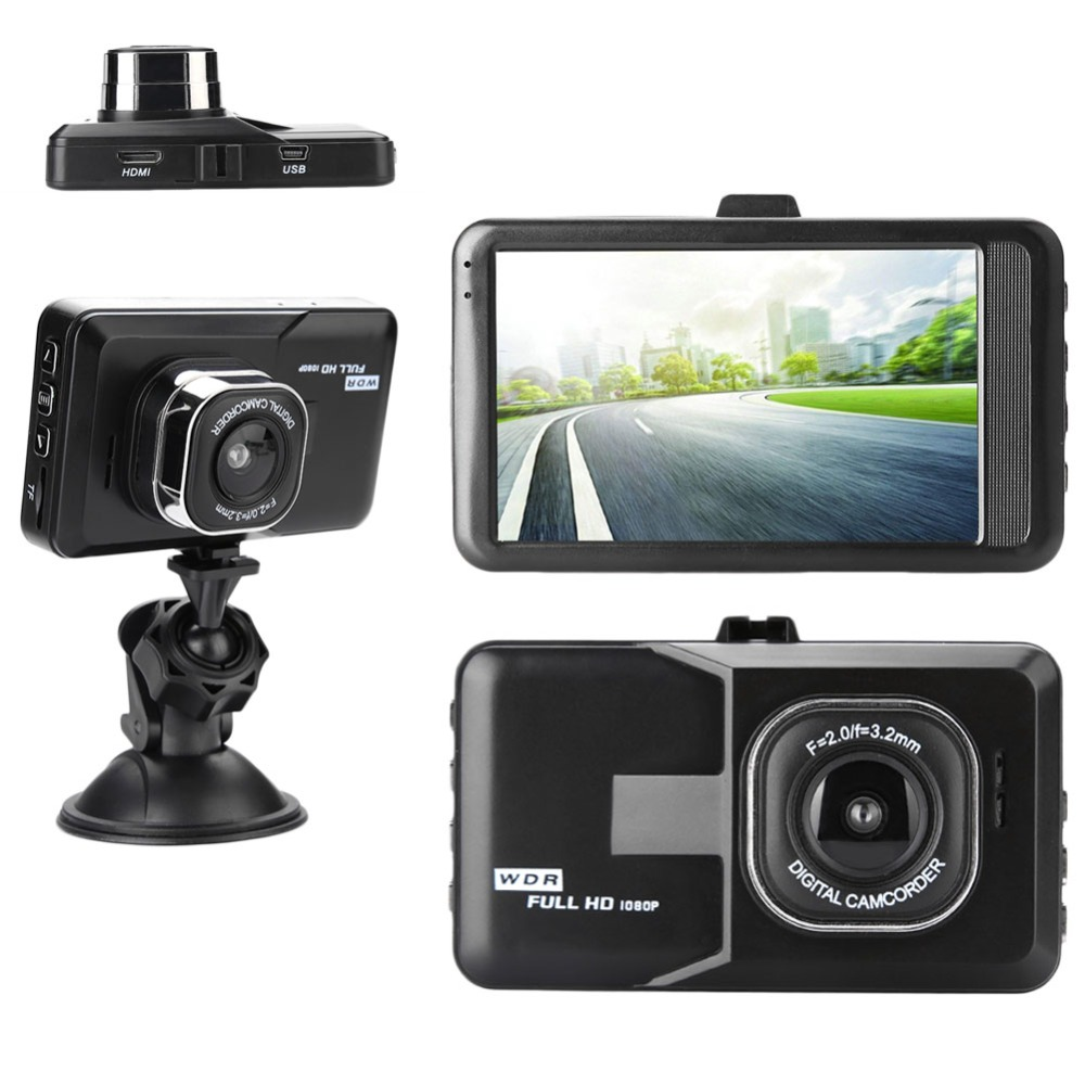 FH06 camera driving recorder 3.0 inch Full HD 1080P Car DVR Camera Dash Cam Dashboard Video Recorder Auto Vehicle Electronics