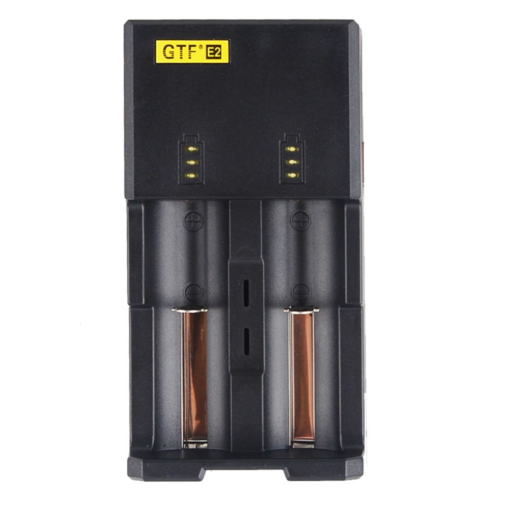Gtf Rechargeable Battery Charger E2 For 16340 10440 Aa Aaa 14500 18650 26650 Battery Cha ...