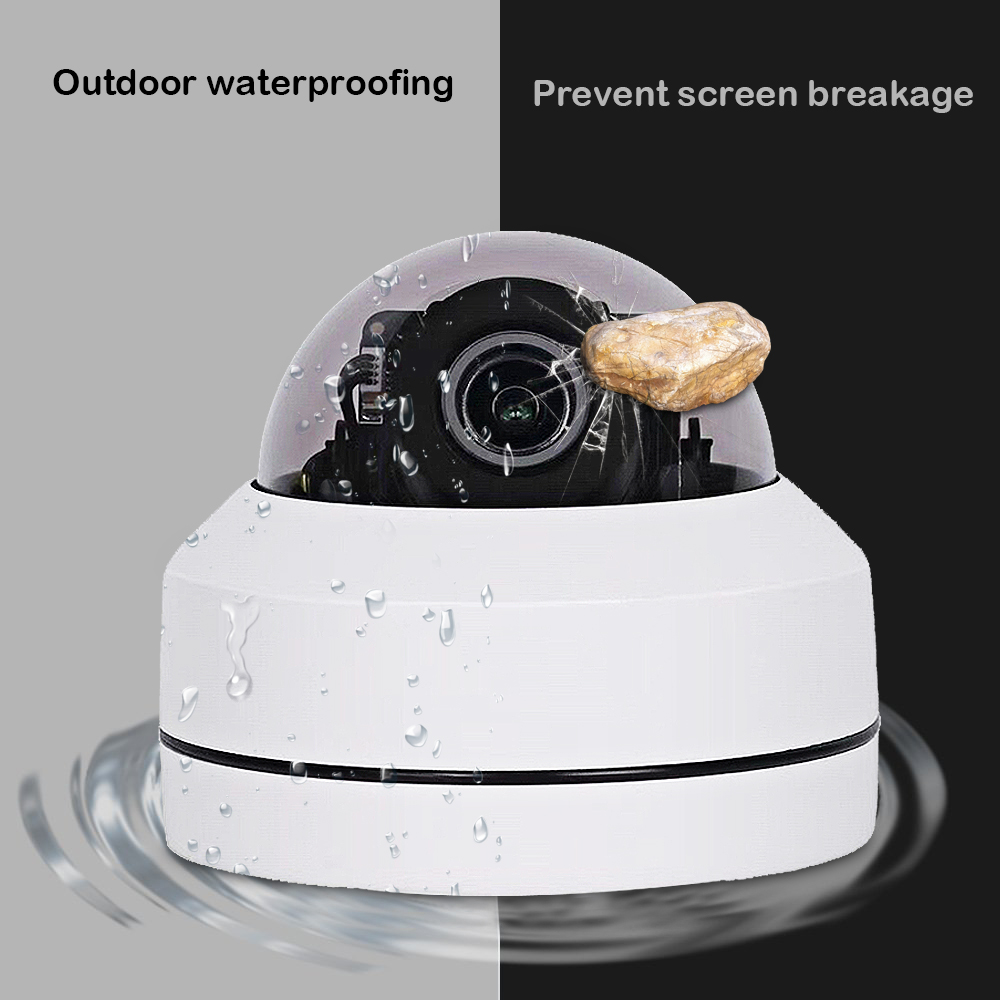 Image 4 - 1080P 5X Zoom 2.5inch AHD PTZ Camera MINI PTZ Dome Camera Outdoor Vanda proof CCTV Camera for CCTV System-in Surveillance Cameras from Security & Protection