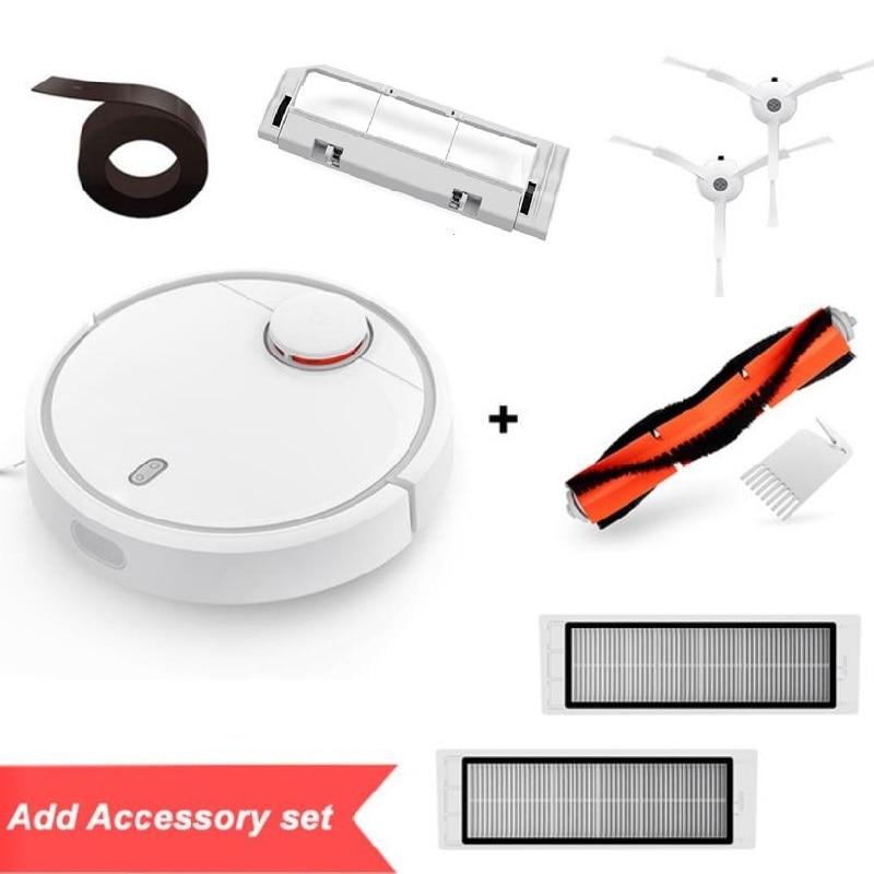 Global Version Original XIAOMI MI Robot Vacuum Cleaner MI Robotic Smart Planned Type App Control Auto