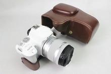 Новинка Pu кожа Камера сумка для Canon EOS 200D 18-55 мм Камера сумка