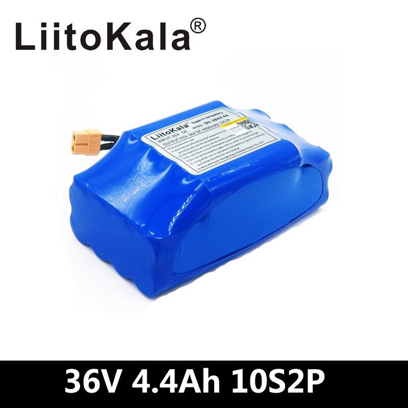 """36 V 4.4Ah 4400 mah haute vidange 2 roues scooter électrique auto équilibrage batterie au lithium pack pour auto-équilibrage convient 6.5 """"7"""""""