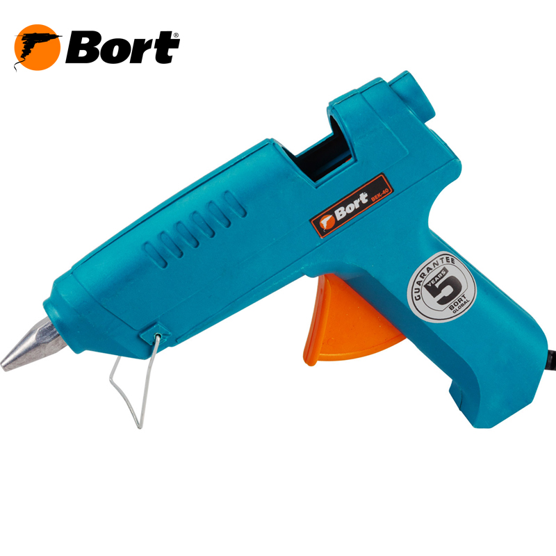 Glue gun Bort BEK-40 super pdr small dent repair removal tools green dent lifter puller tabs glue gun glue sticks for car tool kit to remove dents