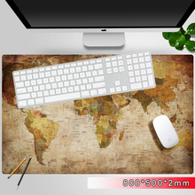 Oversize gaming mouse pad world of map laptop table keyboard non-slip mousepad extend computer maus pad pc mouse mat for player star wars map large game player mouse pad keyboard computer desk pad pc laptop computer home office available ideas