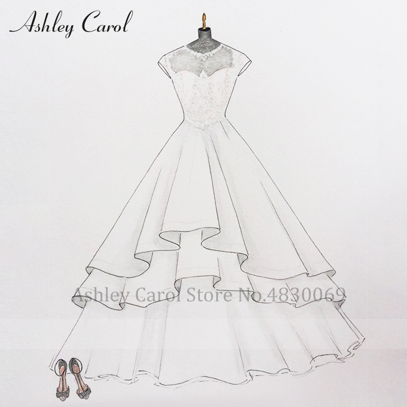 Ashley Carol Custom Wedding Dress 2019 Customized Handmade Any  Wedding Gown Plus Size