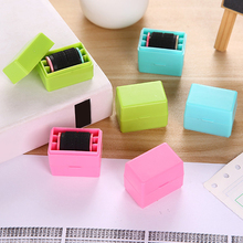 Messy Code ID Guard Mini Roller Stamp Self-inking Privacy Protection Stamp