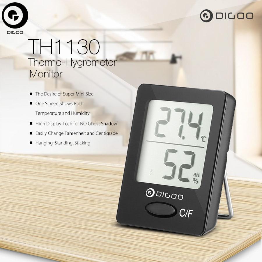 Numérique dg th1130 mini thermomètre hygromètre digoo intérieur maison confort température humidité moniteur 50