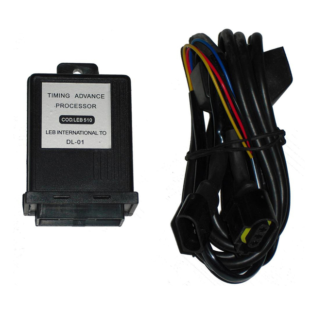 LPG CNG Gas Ignition Timing Advanced Processor T510 for Bi Fuel System Gasoline Cars