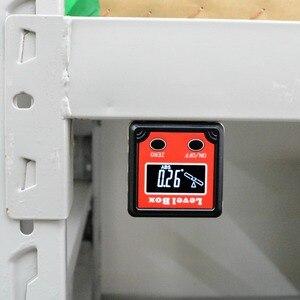Image 3 - Digital Level Angle Finder Bevel Box Magnetic Base 360deg (4 x 90deg) Inclinometer Protractor Gauge Tilt Direction Indicator