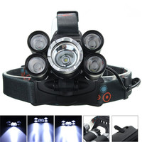 Waterproof Rechargeable XM L T6 XPE 50000 Lumen 4 Mode Bicycle LED Headlight Headlamp Torch Lamp