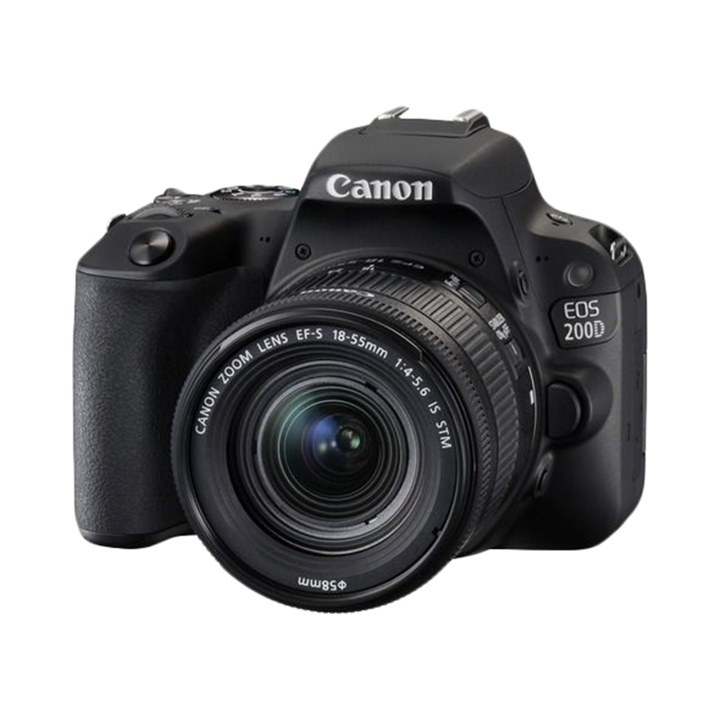 DSLR Camera Canon EOS 200D black