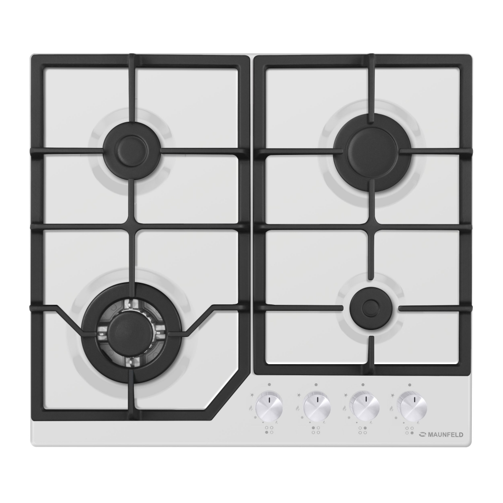Cooking panel MAUNFELD EGHE.64.43CW/G White cooking panel maunfeld eghe 64 43cw g white