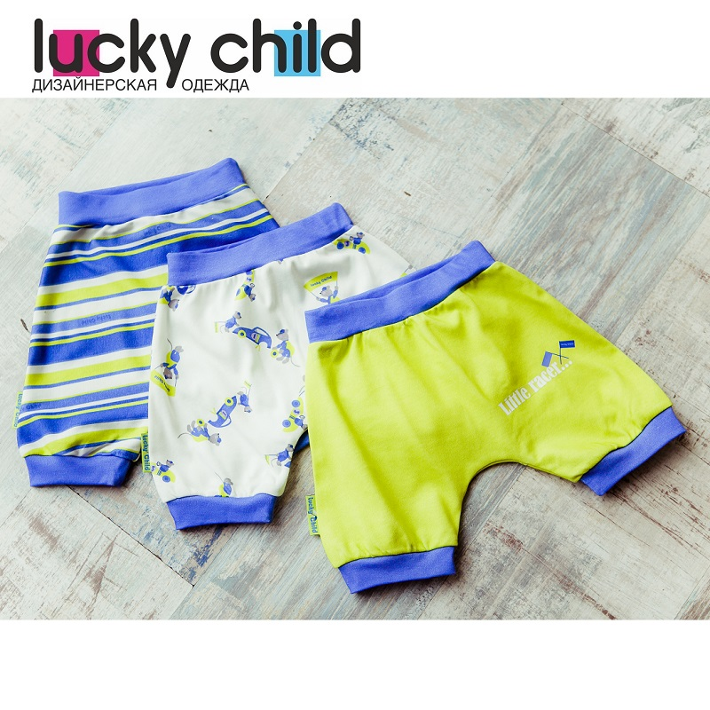 Shorts Lucky Child for girls 30-110/3 Kids Swimwear Baby clothing Pants Children clothes 2017 summer baby boy clothes sleeveless grid t shirt pants 2pcs sport suit baby clothing set newborn infant shorts st17