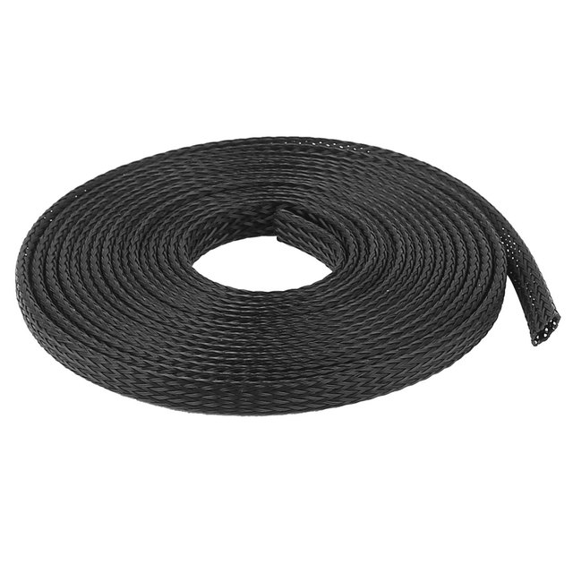 UXCELL Product Name 6Mm Pet Cable Wire Wrap Expandable Braided ...