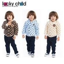 Куртка на подкладе Lucky Child арт. 25-3 (Велсофт) [сделано в России, доставка от 2-х дней]