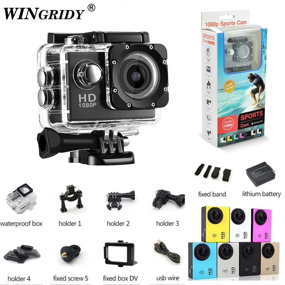 купить Waterproof 30m Mini Camera Full HD 1080P Action Sport Camcorder Outdoor gopro style 2