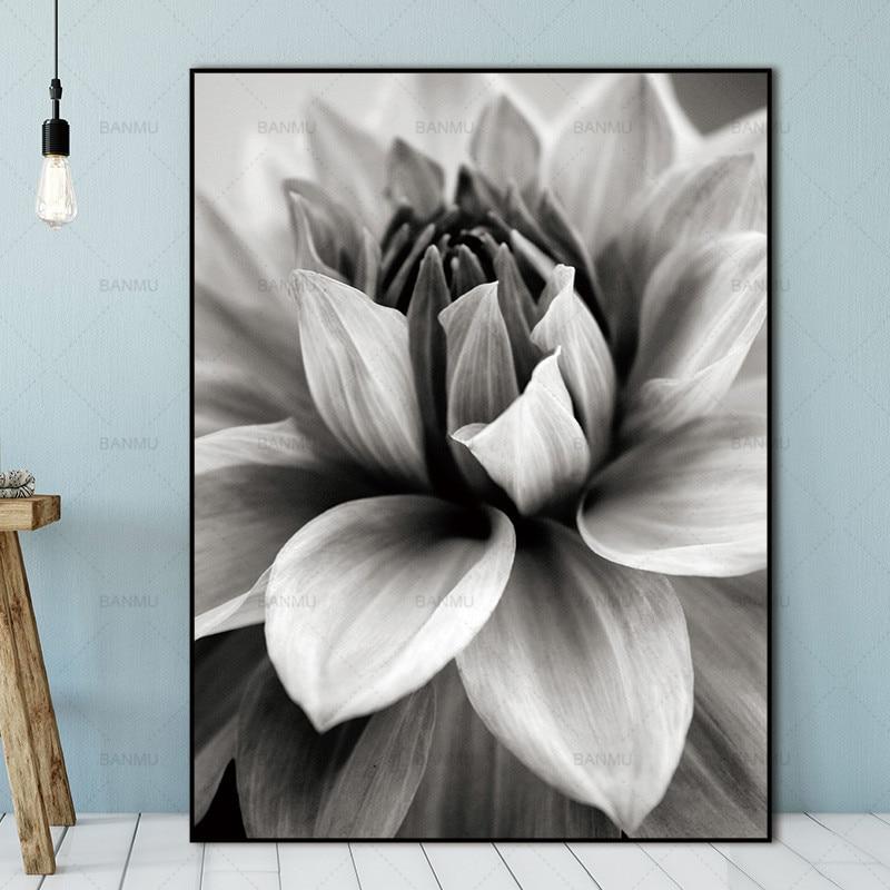 Σκανδιναβική αφηρημένη λουλούδι σε - Διακόσμηση σπιτιού - Φωτογραφία 5