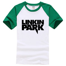 47399d18c2d1e8 Summer Tees Linkin Park T Shirt Men Clothing Short Sleeve Man's cozy TShirt  Rock Music Hip