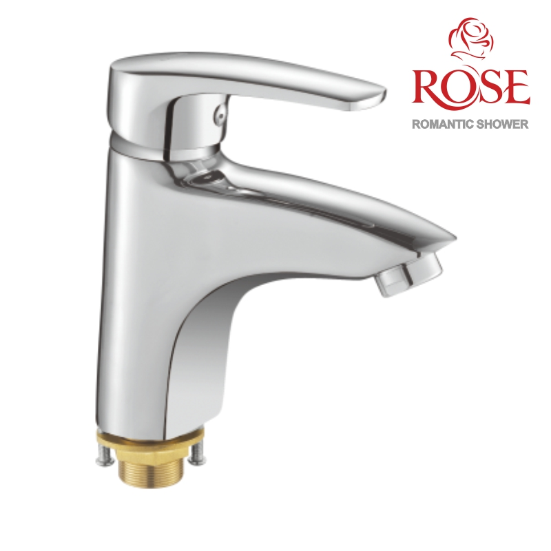 ROSE Basin Mixer, Faucet Tap Sink, Brass Mixer Tap Sink, Water Faucet For Basin,hot And Cold Water Tap,pouring Water Into Sink,water Tap On Sink,water Mixer,S5001
