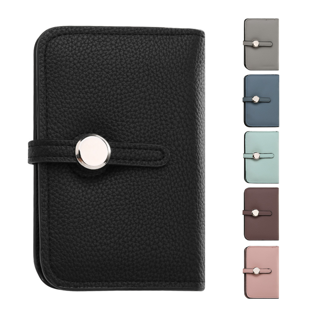 Women Mini Card Wallet Lady Designers Brand PU Leather Belt Wallets Coin Purse Credit Card Holder Short Two Fold purse female short women wallet clutch organizer pu small lady wallets credit card coin holder purse fashion large capacity