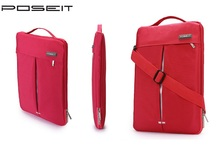 POSEIT Brand Convertible Tablet Laptop Sleeve Case Shoulder Bag for HP Dell Acer Apple Sony LG 11 12 13.3 14 15 15.6 inch