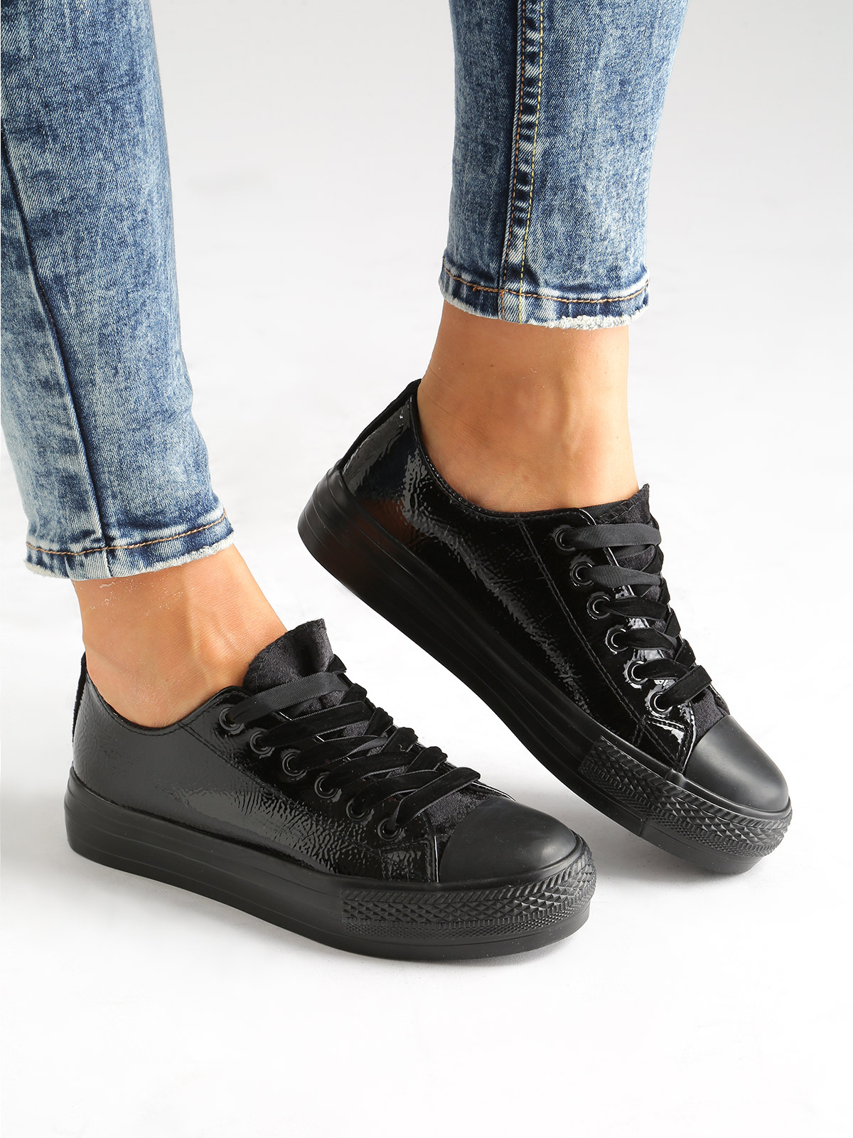 OMS Sneakers Lace-up Shoes With Platform