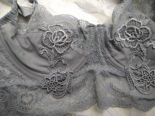 New Gather Adjusted Thin Cup sexy Lingerie Bra Set Underwear Transparent Temptation Sexy Bra Set For Women