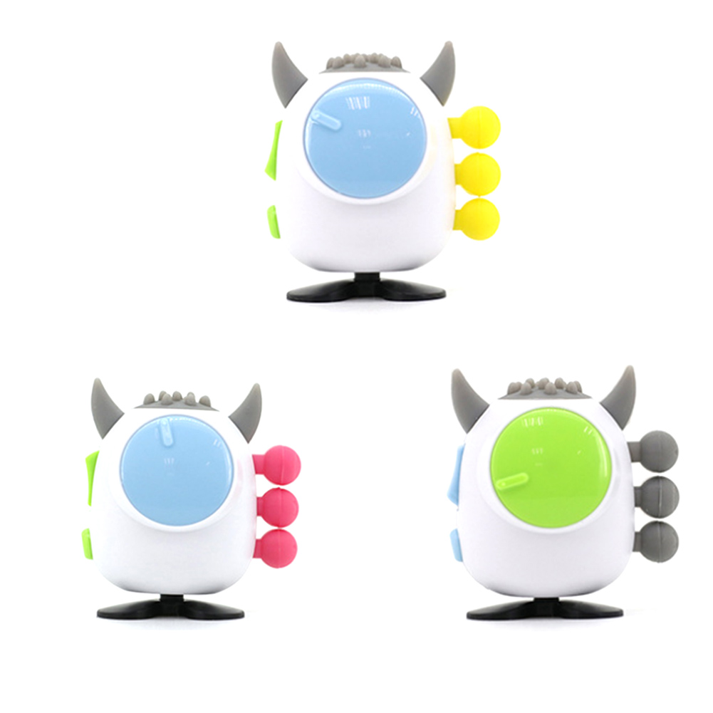 New Devil Shape Stress Relieves Toys Fidget Hand Relax Cube Squeezed Fun Dice Desk Spin Toy