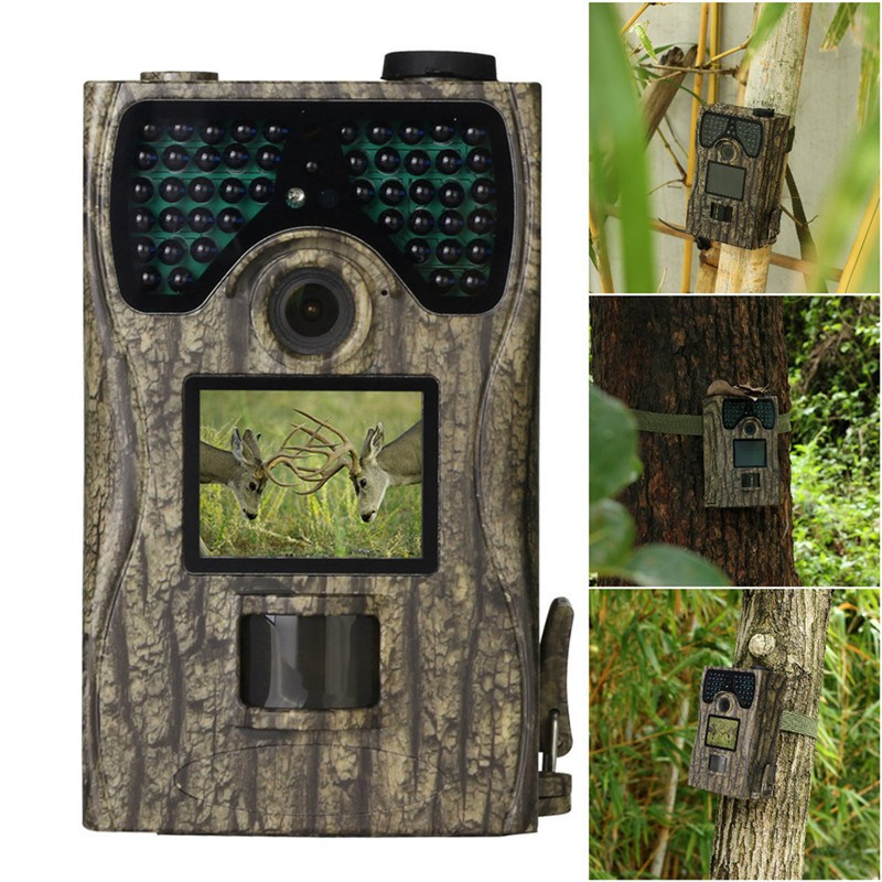 Outdoor Hunting Camera PR-300 HD 12MP Digital 48 LEDs IR Infrared Night Vision Animal Trail Monitor Cameras