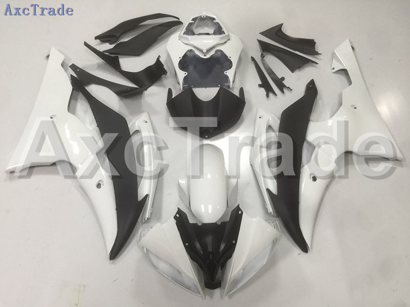 Motorcycle Fairings Kits For Yamaha YZF600 YZF 600  R6 YZF-R6 2008-2014 08 - 14 ABS Injection Fairing Bodywork Kit White Black injection molding bodywork fairings set for yamaha r6 2008 2014 blue black full fairing kit yzf r6 08 09 14 zb83