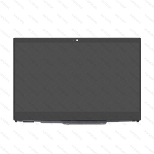 15.6 N156BGA-EA3 / NV156FHM-N35 LCD Touch Screen Digitizer Assembly With Bezel For HP Pavilion x360 Convertible PC 15-CR0000 free shipping nv156fhm n35 nv156fhm n35 lp156wf9 spc1 n156hca eba laptop lcd screen 1920 1080 edp 30pins ips