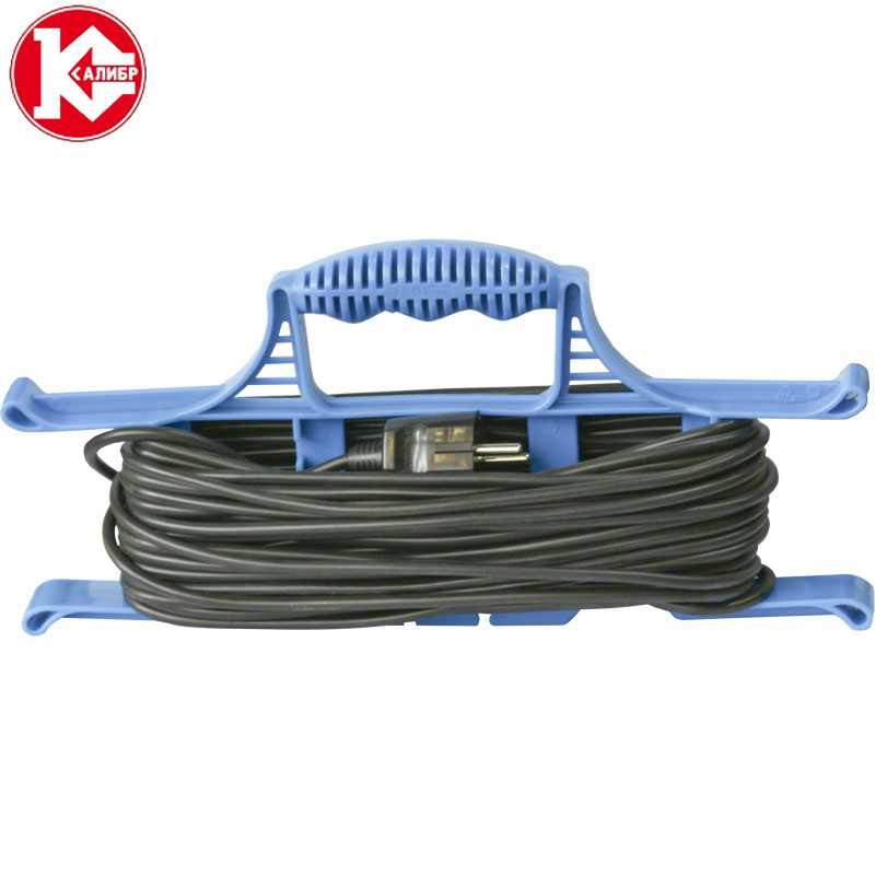 Kalibr 40 meters (2x0.75) electrical extension wire for lighting connect, cross-section 2*0.75