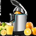 Cecotec электрическая оранжевая соковыжималка Zitrus Регулировка 160 черный идеально подходит для извлечения максимальных соков здоровый простой...