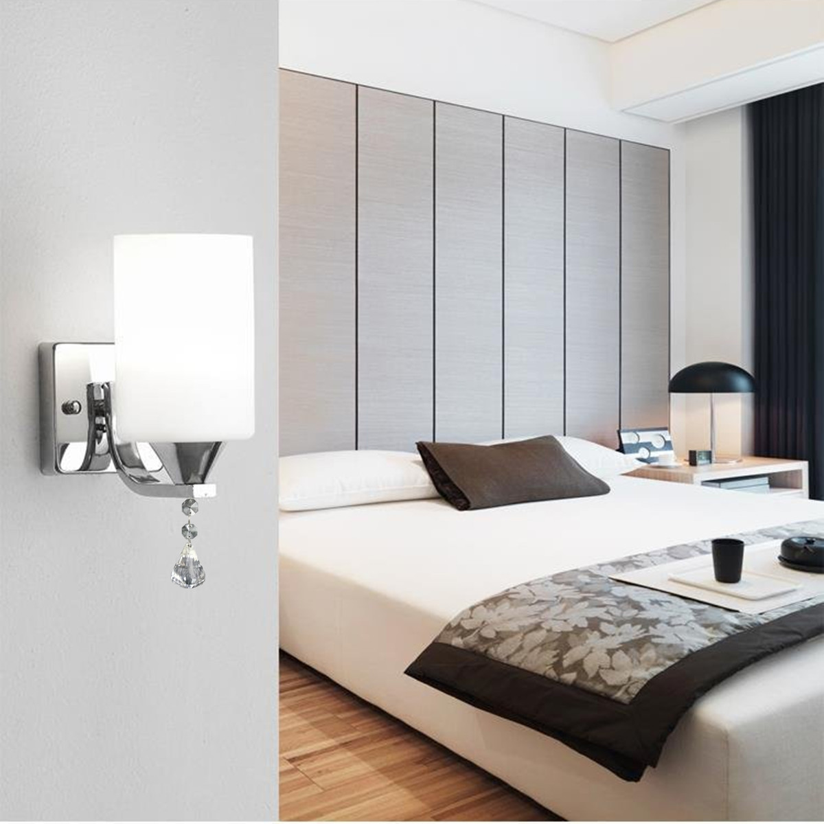 E27 220V LED Wall Light Head Of Bed Wall Lamp Home Decor Lamp Modern And Fashion Design Easy Installation