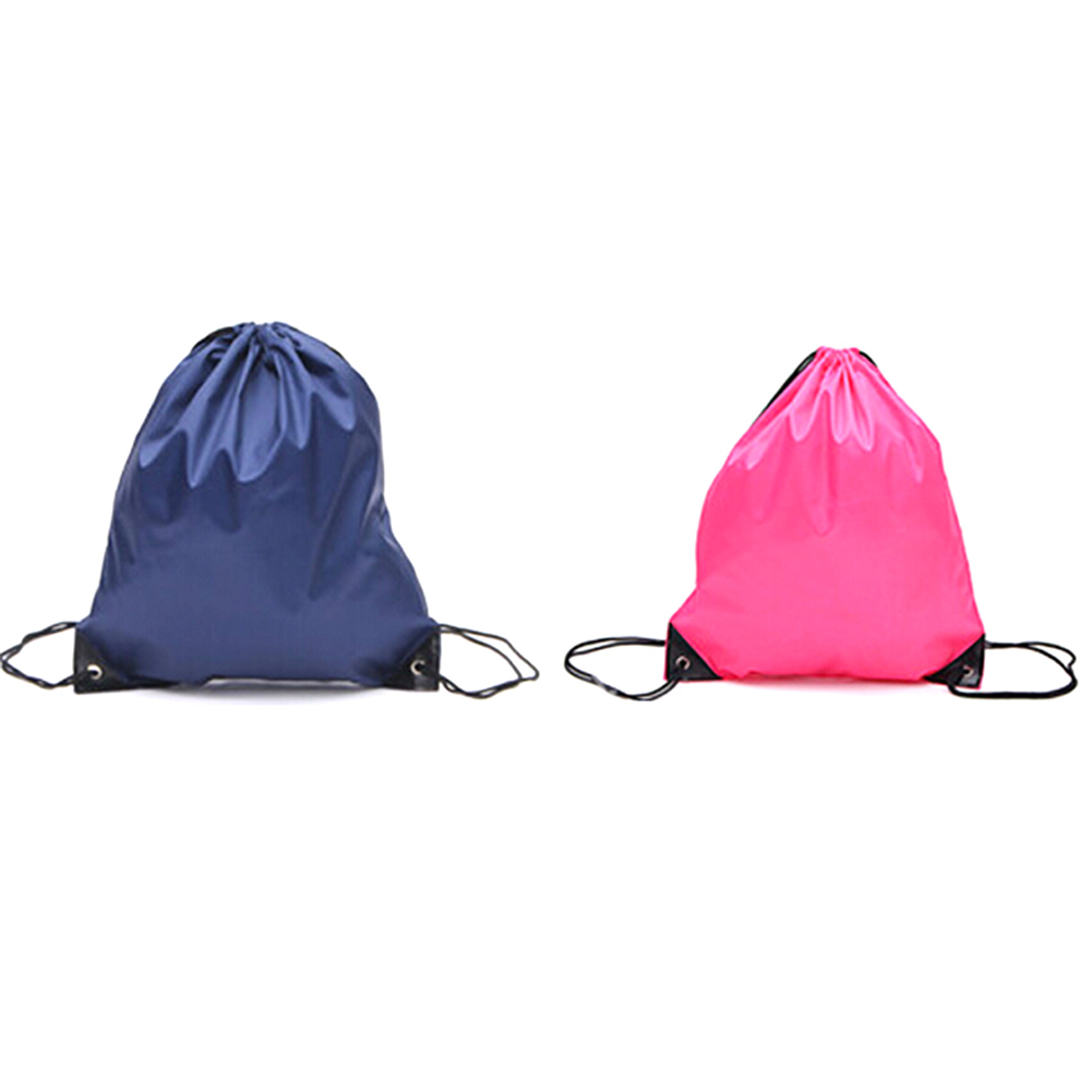 Storage Bags Confident 35*40cm School Sport Travel Bag Gym Swim Dance Shoes Backpack Bundle Nylon Drawstring Rope Custom Shoulder Storage Bags