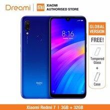 グローバルバージョン xiaomi redmi 7 32 ギガバイト rom 3 ギガバイトの ram (真新しいと密封されたボックス) redmi7 スマートフォン携帯