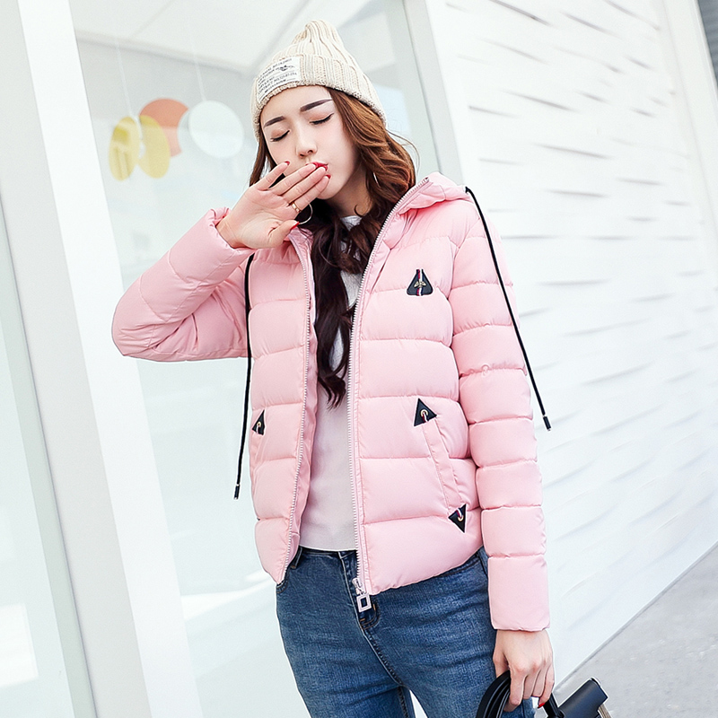 Women's Winter Jackets And Coats 2017 Women Thick Short Jacket Winter   Parka   Female Cotton Padded Anorak Manteau Femme