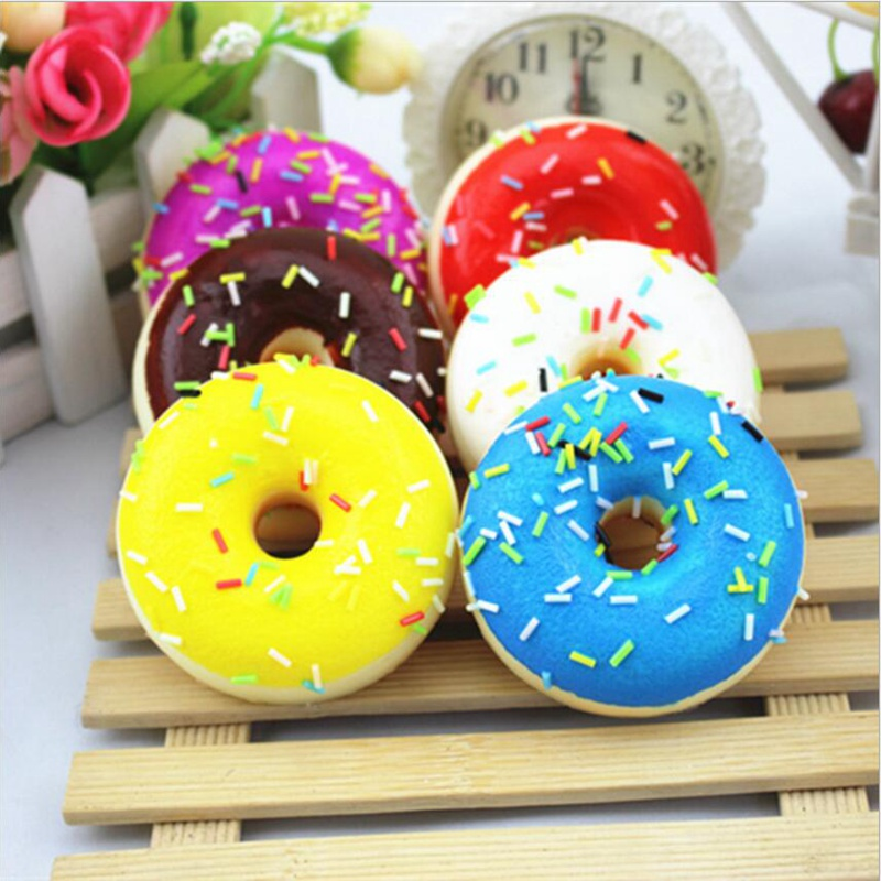 1Pc Fake Food Simulation Donut Dessert Home Accessories Cheap Cake Dessert Pastry Model Photography Props Early Education Toys