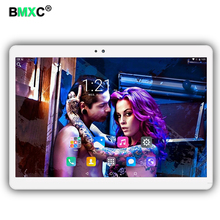 Free shipping 10.1 inch 3G 4G Lte Tablet PC Android 7.0 Octa Core 4G RAM 64GB ROM Dual SIM Card bluetooth tablets 10 10.1+ Gifts